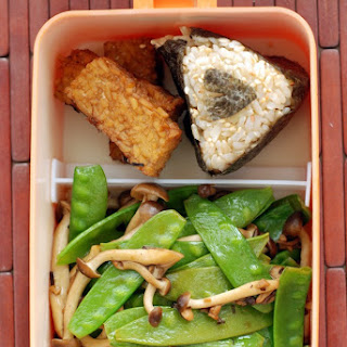 Japanese Vegetables and Tempeh with Ponzu Sauce