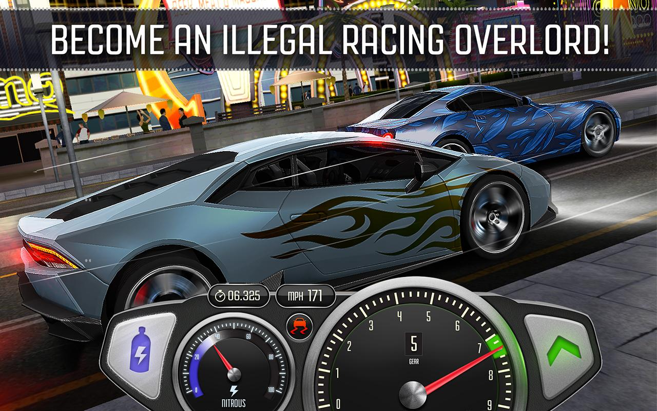 top speed drag fast racing android apps on google play. Black Bedroom Furniture Sets. Home Design Ideas