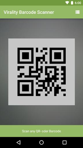 Virality Barcode Scanner