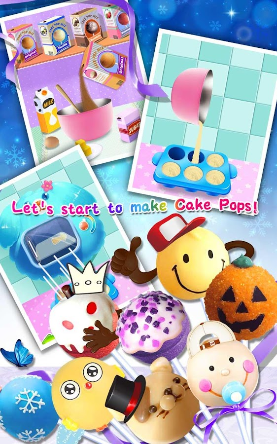 cake pops maker salon android apps on google play. Black Bedroom Furniture Sets. Home Design Ideas