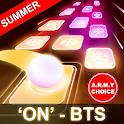 BTS Hop: KPOP IDOL Rush Dancing Tiles Game 2019! icon