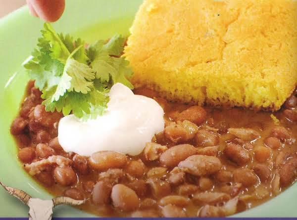 Beans And Cornbread Recipe