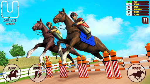 Code Triche Horse Riding Racing Rally Game APK MOD (Astuce) screenshots 1