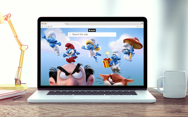 The Smurfs Wallpapers New Tab Theme