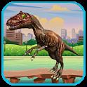 Dinosaur Run icon