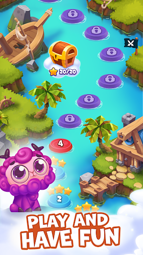 Pirate Treasures - Gems Puzzle - screenshot