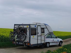 Photo: wieder mal haben wir die Fahrräder dabei gehabt und haben sie nicht benutzt.