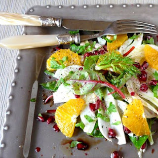 Vitamin Salad with Orange and Pomegranate Recipe