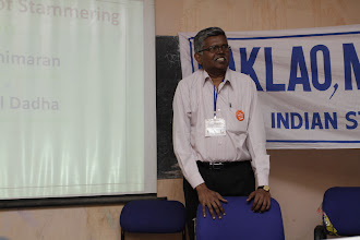 Photo: Mr. Manimaran tells us why to accept stammering