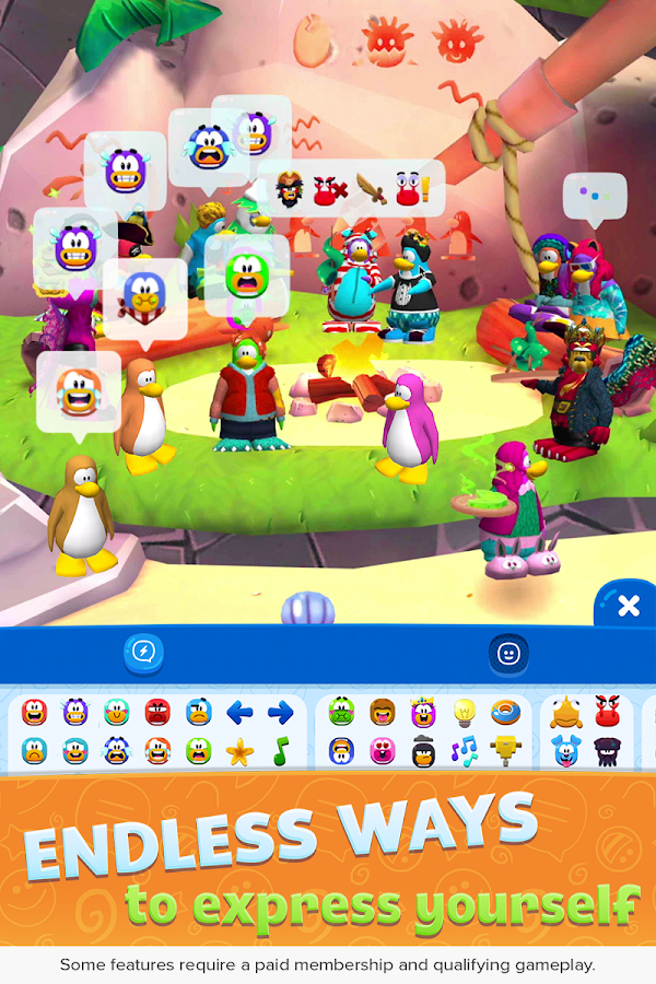 Club Penguin Island- screenshot