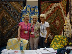 Photo: House of Friendship Fellowship Booth Helena Daniels, Jean Cadwallader, Cheryl Minshew