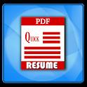 Quick Resume Builder icon