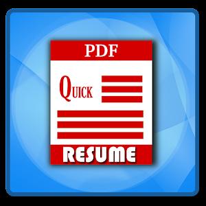 quick resume builder - Quick Resume Builder