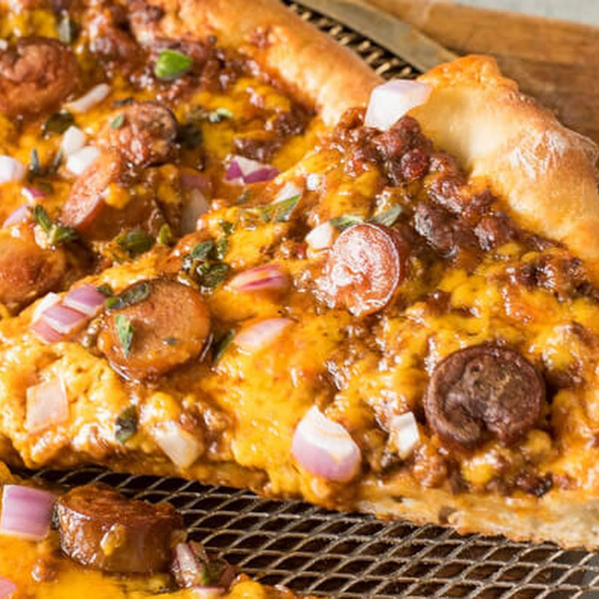 Chili Cheese Pizza