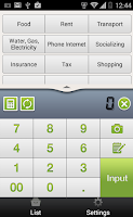 Screenshot of Quick Money Recorder-Spending