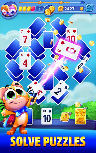 Solitaire Showtime: Tri Peaks Solitaire Free & Fun apkmr screenshots 1