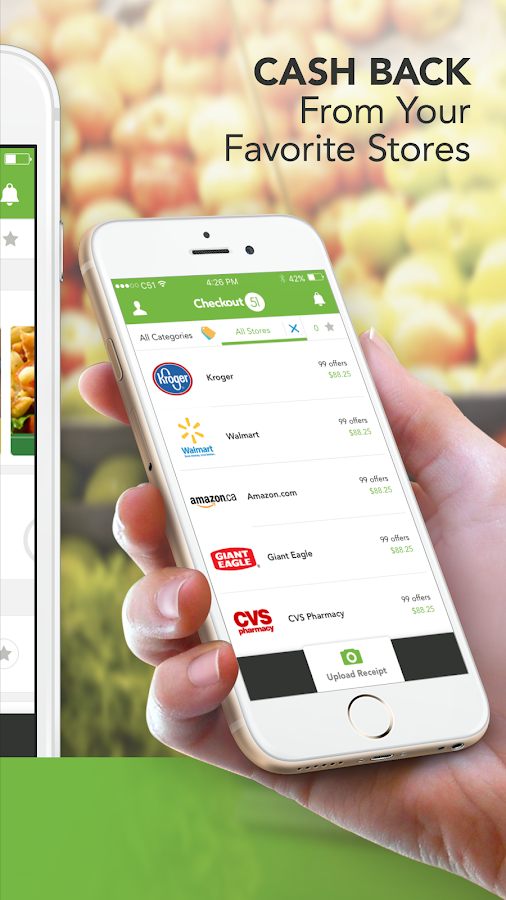 Android app grocery shopping coupons