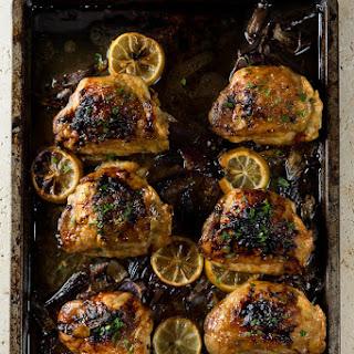 One Pan honey lemon Chicken.