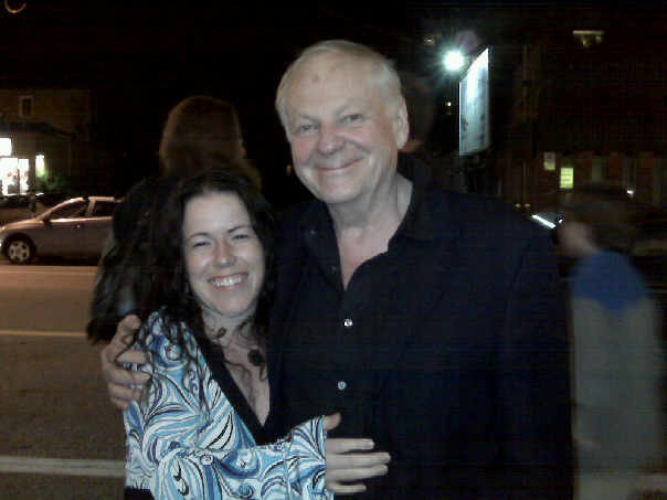 Photo: Richard Williams ( Who Framed Rodger Rabbet, Animators Survival Kit) and I
