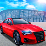 Driving School 3D Highway Road Icon