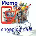 Memo Shopping Cart icon