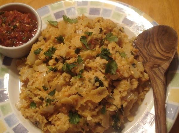 Fried Tortilla Side Dish/tortilla Frita Con Queso Recipe