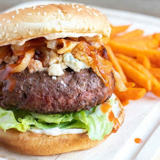 Buffalo Blue Cheese Burger Recipe