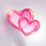 Romantic Hearts Live Wallpaper