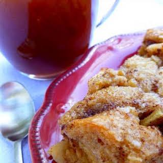 Caramel Apple Bread Pudding.