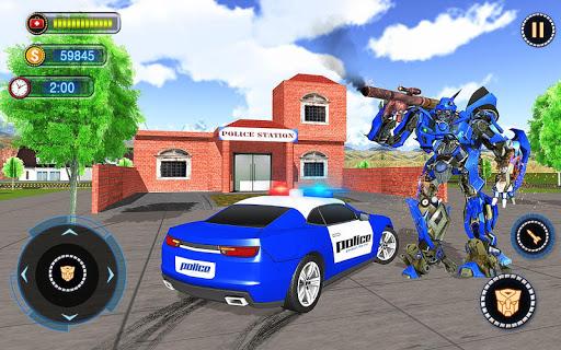 US Robot Car Transform - Police Robot Fighting 1.0.1 screenshots 12