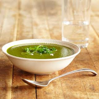 Kale and Leek Soup.