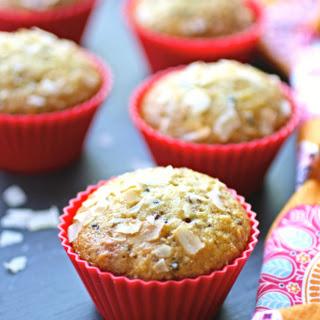 Quinoa, Coconut and Date Muffins.