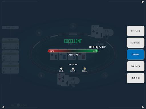 DTO Poker - Your GTO MTT Poker Trainer 2.7.3 screenshots 21