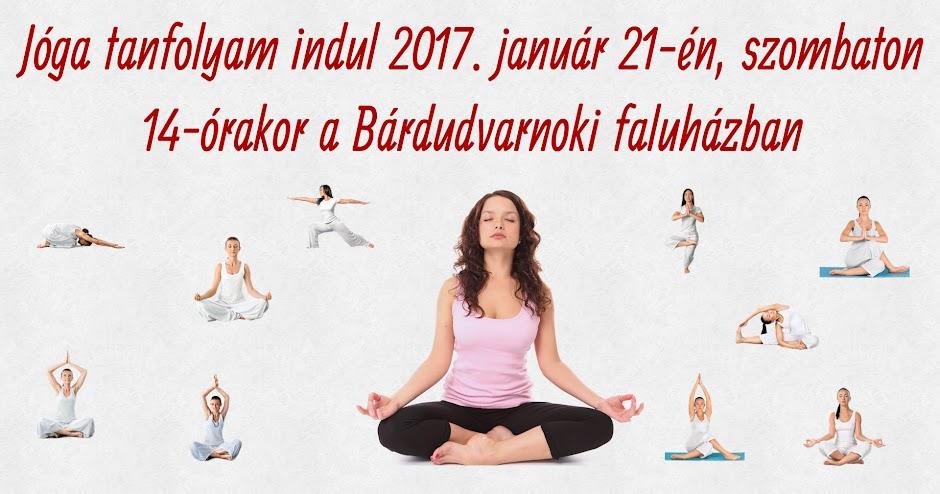 Jóga Bárdudvarnok 2017