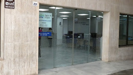 Oficina de Aguas de El Ejido en la Plaza Mayor donde se realiza el pago de recibos.