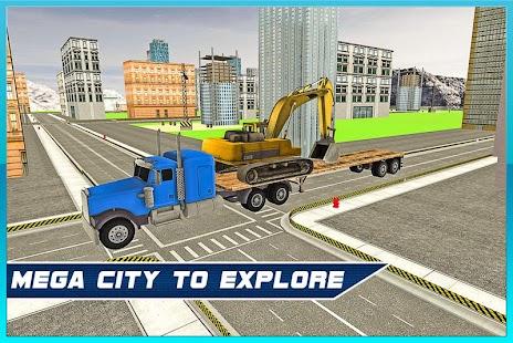Heavy Machine Transport Truck screenshot