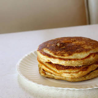 Fluffy Sourdough Pancakes (THM-E).