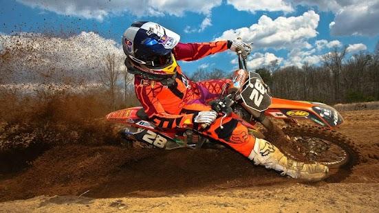 Motocross Jump Wallpaper - náhled
