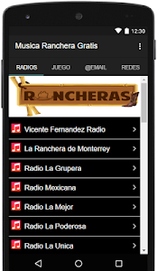 Musica Ranchera Gratis screenshot 4