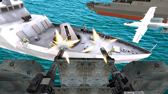 Helicopter Gunship Strike 3D War - náhled