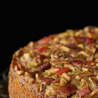 Sticky Apple Pecan Cake