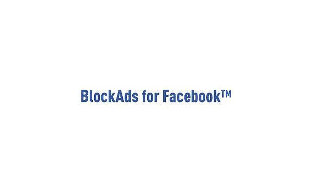 BlockAds for Facebook(TM)