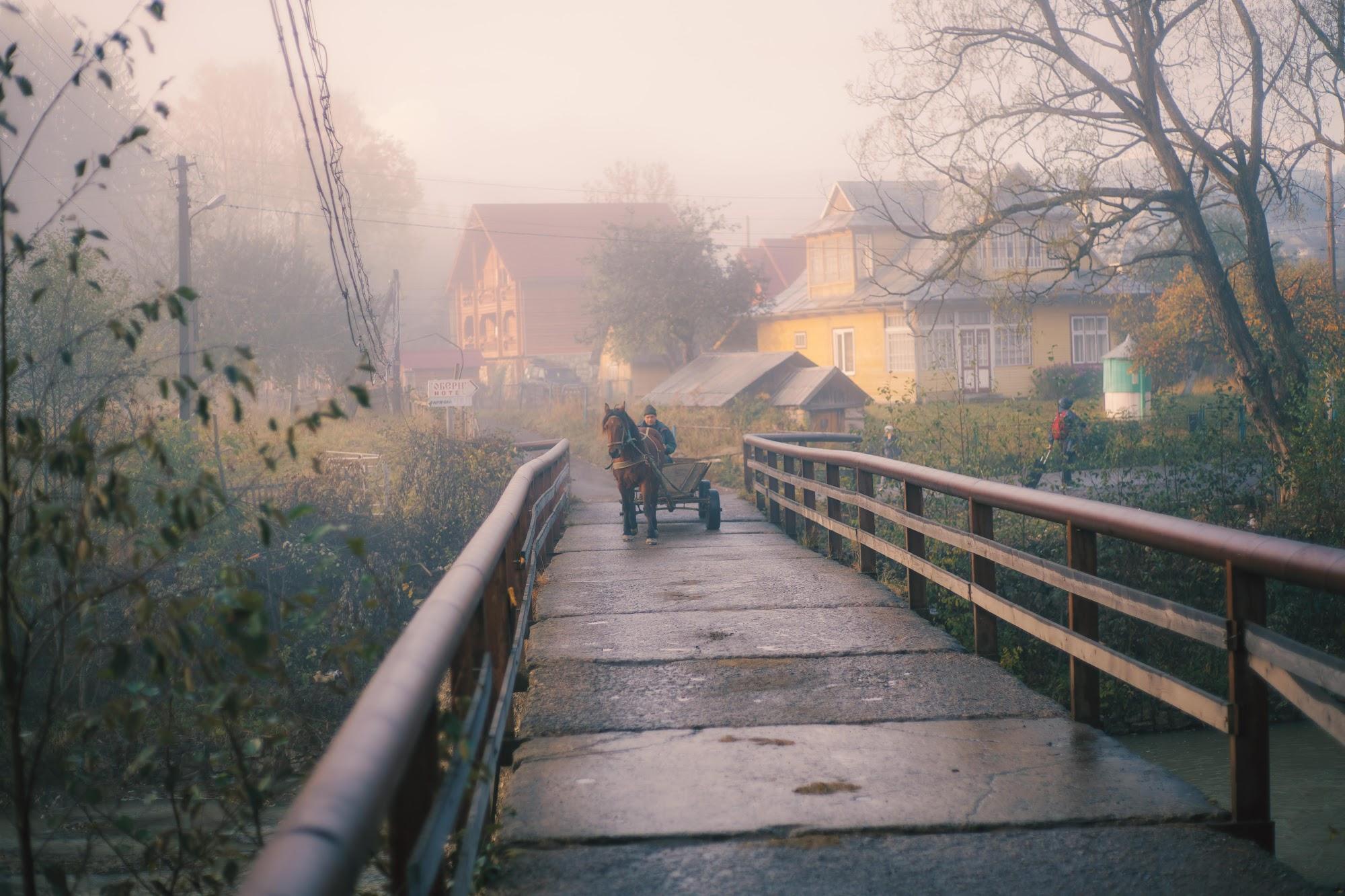 Міст через річку - Ворохта