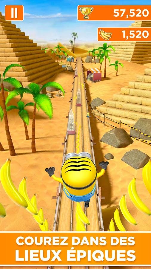Moi, Moche et Méchant: Minion Rush est un jeu proposé par le célèbre Gameloft. Les Minions de Gru relèvent un tas de défis pour satisfaire le