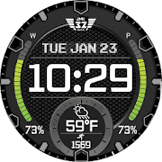 VIPER 9 (12h 24h) Watchface for WatchMaker