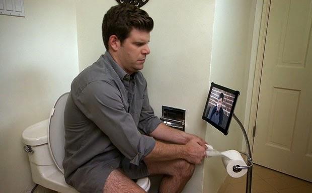 Utilizzare l'iPad in bagno per giocare: che goduria!