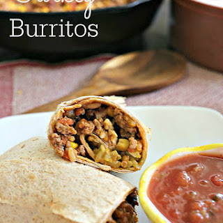 Healthier (But Still Delicious) Turkey Burritos