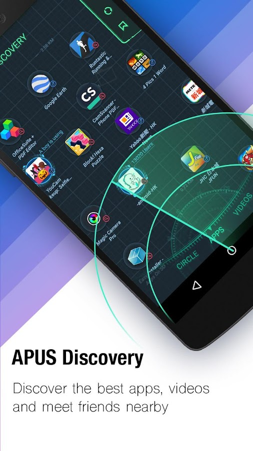 APUS Launcher - Themes, Boost- screenshot
