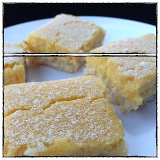 Lemon Bars (grain / gluten / dairy / sugar free, paleo)