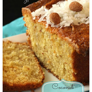 Coconut Almond Bread.